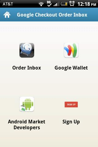 Google Checkout Order Inbox