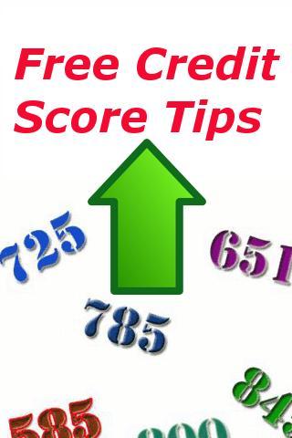 Free Credit Score Tips