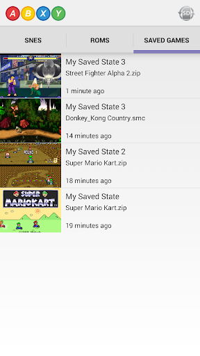 ABXY Pro - SNES Emulator - screenshot