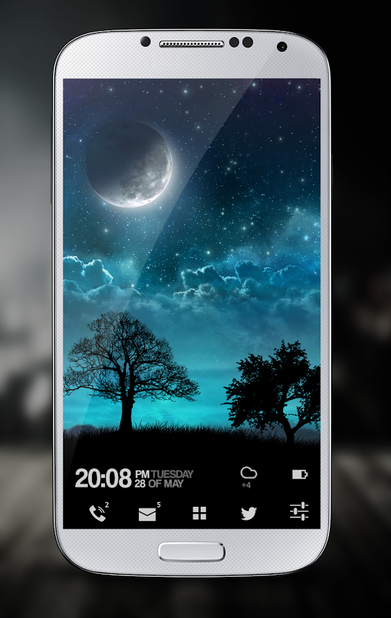 Dream Night Pro Live Wallpaper Screenshot 1