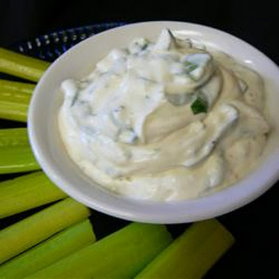Yogurt Spinach Dip