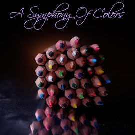 A symphony of colors by Dave Bernard - Typography Words (  )