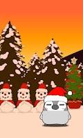 Screenshot of Pesoguin LWP Christmas Penguin