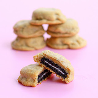 Oreo Stuffed Peanut Butter Cookies