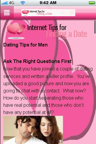Internet Tips For Dating