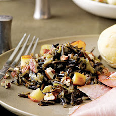 Wild Rice with Apples