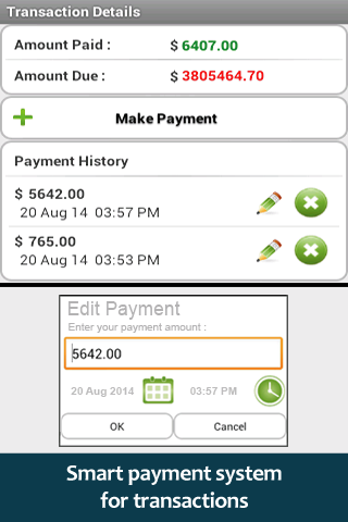 Invoice PDF - screenshot