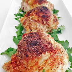 Lemon Herb Stuffed Chicken Thighs