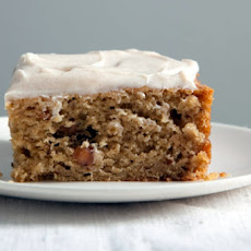 Fruitcake with Ginger Cream Cheese