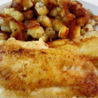 Pan–fried Cod With Potatoes