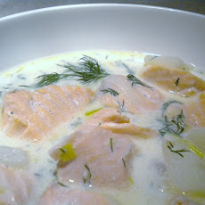 Very Simple Salmon Chowder