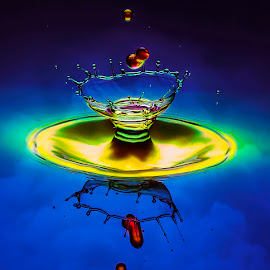 Cheers ! by Chandra Irahadi - Abstract Water Drops & Splashes