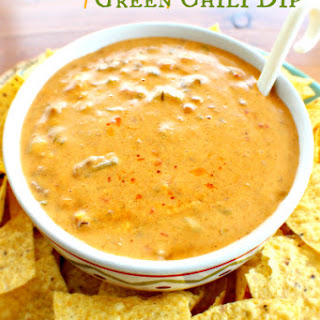 Spicy Cheesy Green Chili Dip