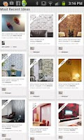 Screenshot of HomeDecor.com + Pinterest + FB
