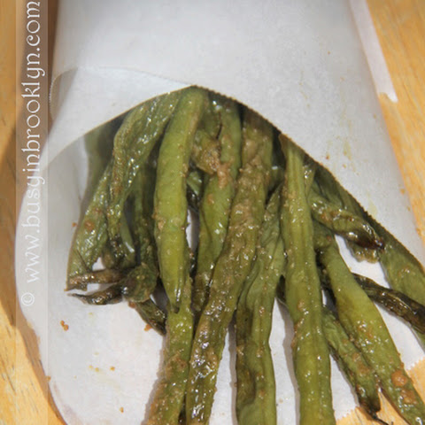 Crunchy Shriveled Green Beans