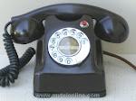 Desk Phones - Kellogg Red Bar Brown