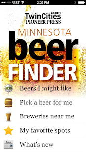 Minnesota Beer Finder - screenshot