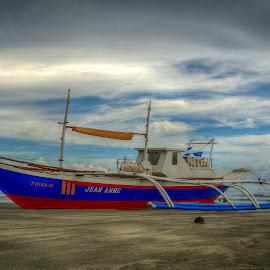 Fishing Boat by Nick Foster - Transportation Boats ( fish, ocean, seascape, boat, fishing boat )