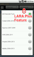 Screenshot of LARA Lock Decoder Assistant