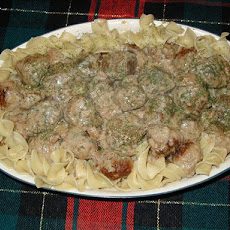 Turkey-dilly Meatballs