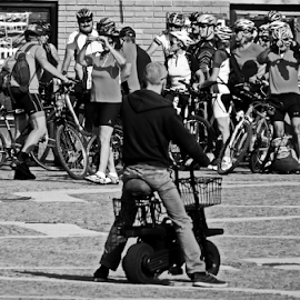 rival by Renato Dibelčar - Transportation Bicycles ( rival, outdoor, street, people, bicyclist, man, bicycle )