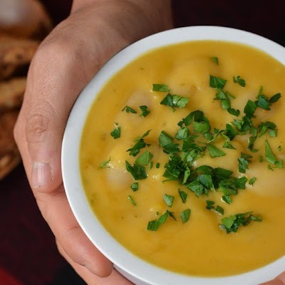 Sweet Potato Lima Bean Soup