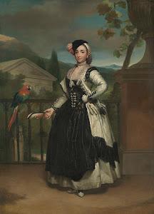 RIJKS: Anton Raphaël Mengs: Portrait of Isabel Parreño y Arce, Marquesa de Llano 1772