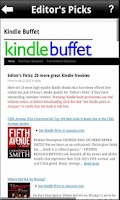 Screenshot of Kindle Buffet - Free eBooks