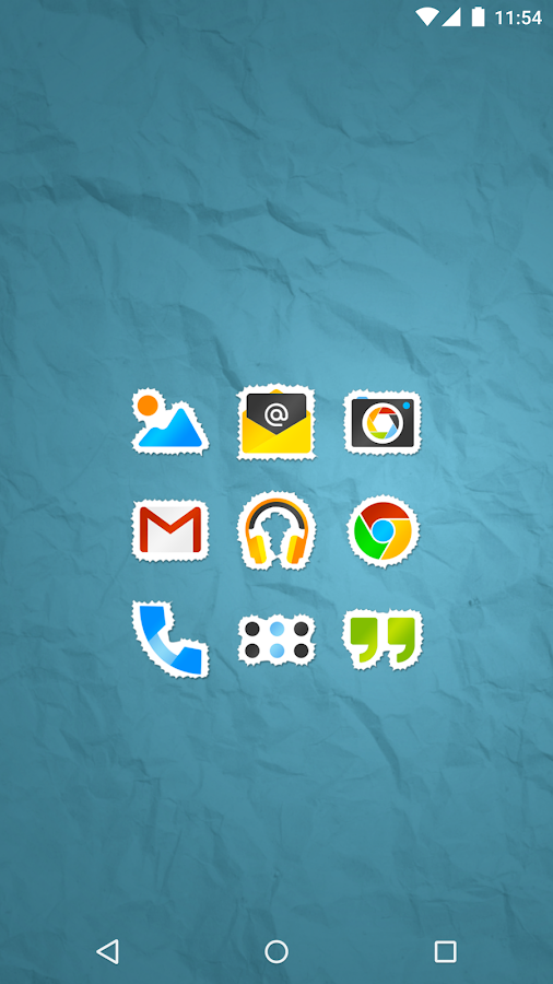 Sticko - Icon Pack Screenshot 0