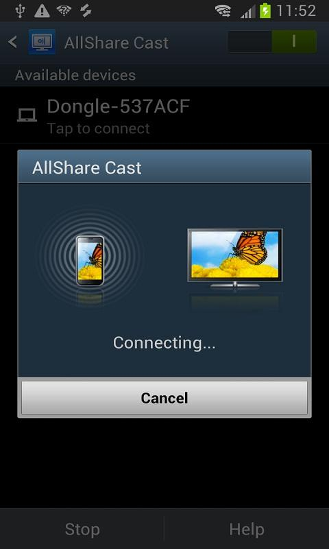 Android Allsharecast Dongle S W Update For Samsung Htc