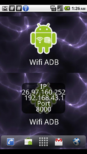 ADB over WIFI Widget