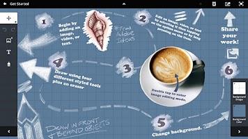 Screenshot of Adobe Collage