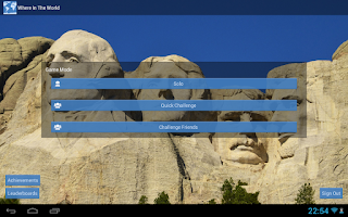 Screenshot of Where in the World