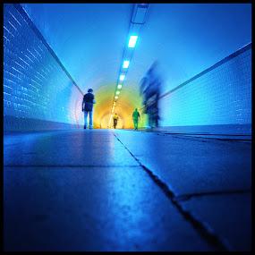 The Tunnel by Fernand De Canne - People Street & Candids ( street, antwerp, tunnel,  )