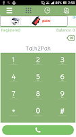 Screenshot of Talk2Pak