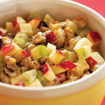 Apple, Celery, and Walnut Salad