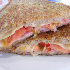 Grilled Ham and Gruyere Sandwiches