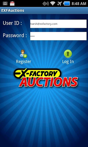 EXF-Auctions