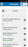 Screenshot of Straußenführer Südbaden