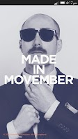 Screenshot of Movember Mobile