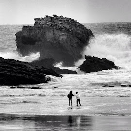 Biarritz* by Elsa Bertrand - Landscapes Beaches
