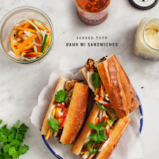 Seared Tofu Banh Mi Sandwiches