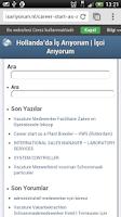 Screenshot of İş Arıyorum & İşci Arıyorum