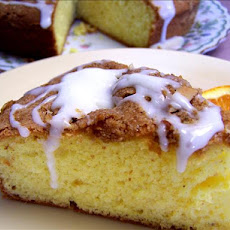Orange Streusel Loaf Cake