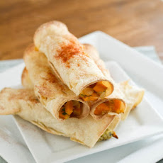 Sweet Potato Breakfast Taquitos