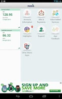 Screenshot of MyMaxis