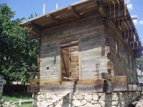 Reconstructia Manastirii din Lemn