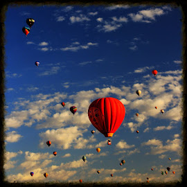 by Jim Keller - Novices Only Landscapes ( #hotairballoon, #nemexico )