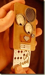 victorian steampunk phone