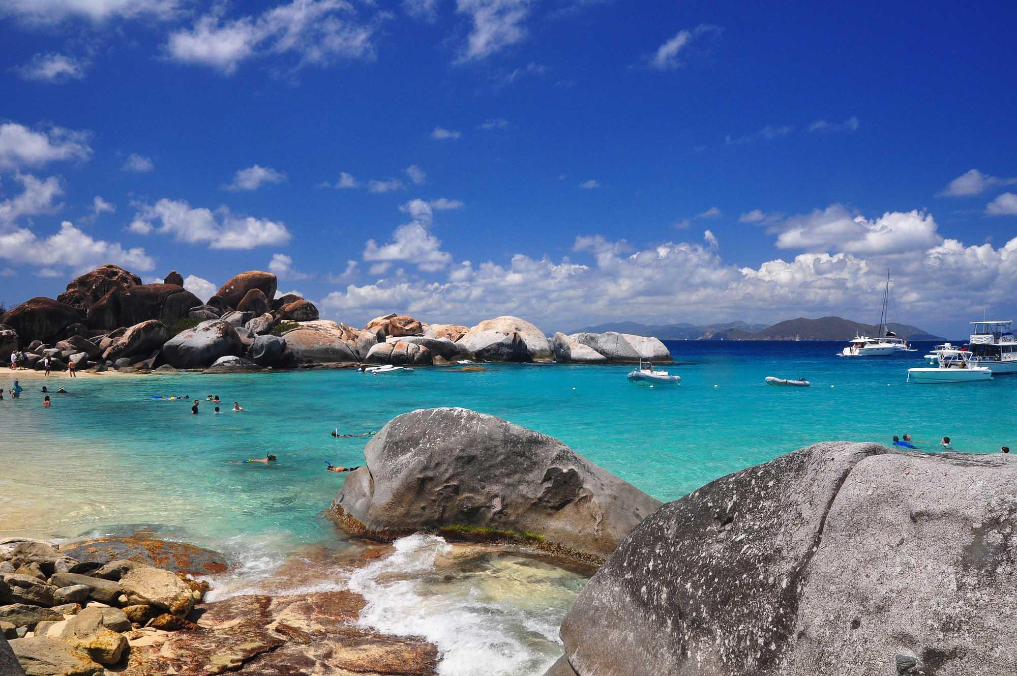 The Baths, Virgin Gorda Island, British Virgin Islands, West Indies  № 1471479 бесплатно